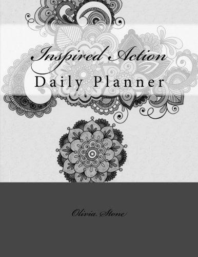 Inspired Action: Black & White Daily Planner PDF ePub book
