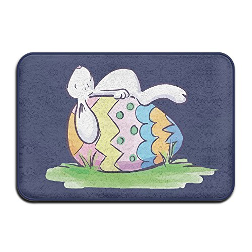 Trendy Mats Sleeping Easter Bunny and Egg Entry Way Outdoor Non-Skid/Slip Rug 23