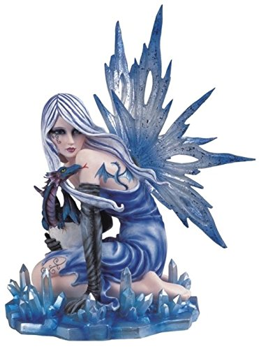 StealStreet Ice Fairy with Dragon Hatchling Collectible Figurine Decoration Statue
