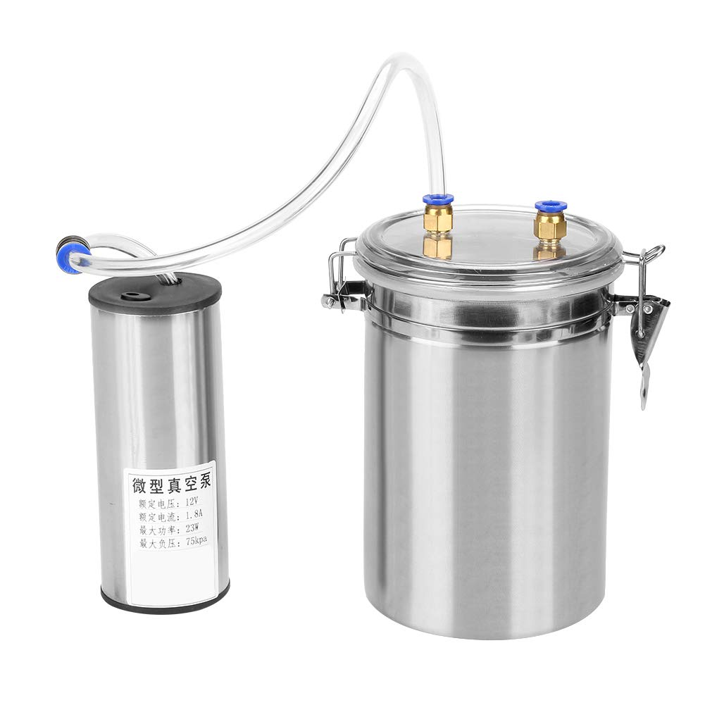 Yosoo 2L Electric Milking Machine Portable Stainless Steel Milker for Sheep Cows (110-240V)(Cows) by Yosoo (Image #9)
