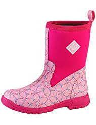 Muck Boots Womens Breezy Mid Boot, Pink Mosaic, 5 B(M) US Womens