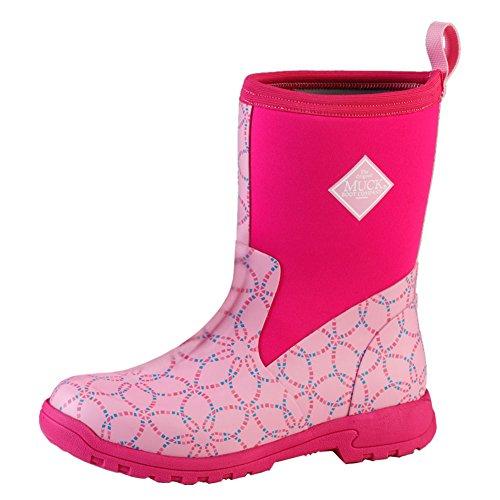 Stivali Di Lana Womens Mid Boot Medio, Mosaico Rosa, 5 B (m) Noi Donne