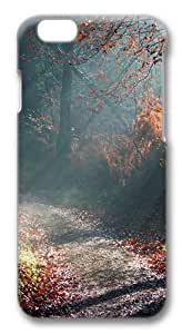 Forest Sunny Way Polycarbonate Hard Case Cover for iphone 6 plus 5.5 inch 3D