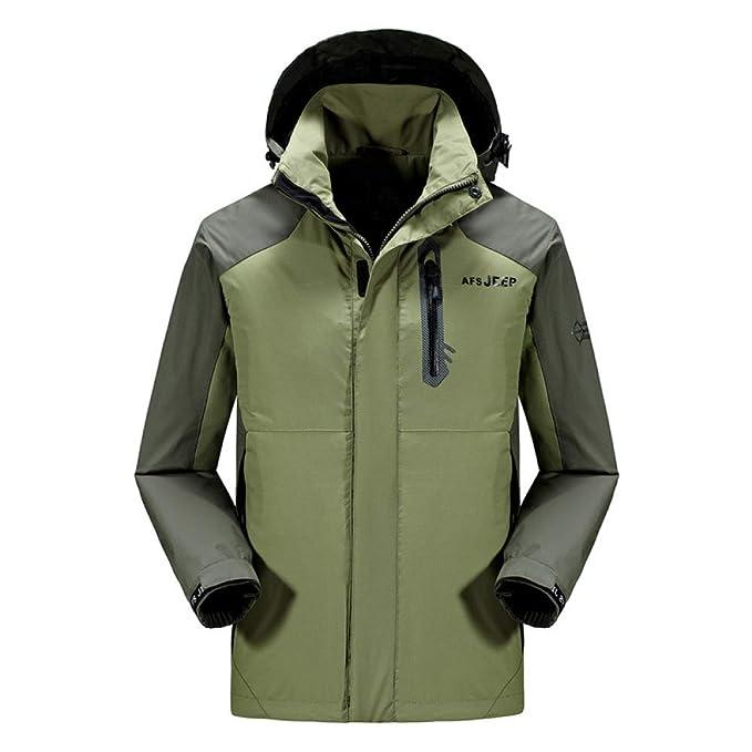 Hombres Chaqueta Impermeable Escudo Sportswear-Outdoor ...