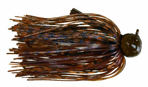 Strike King Tour Grade Football Jig Bait (Peanut Butter & Jelly, (Powder Paint Jigs)
