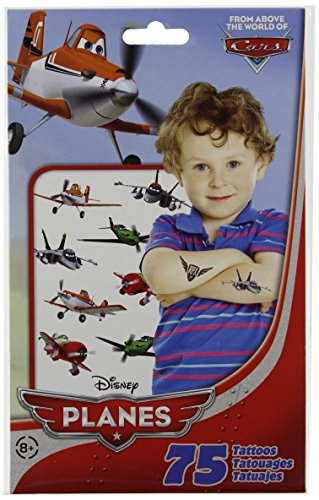 Disney Planes Temporary Tattoos 75 ct From Above the World o