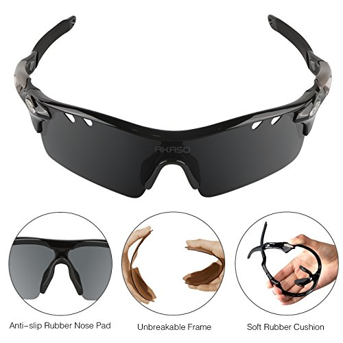9ce82269fd6 AKASO Polarized Sunglasses for Men