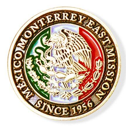 LDS México Monterrey East Mission Commemorative Lapel ()