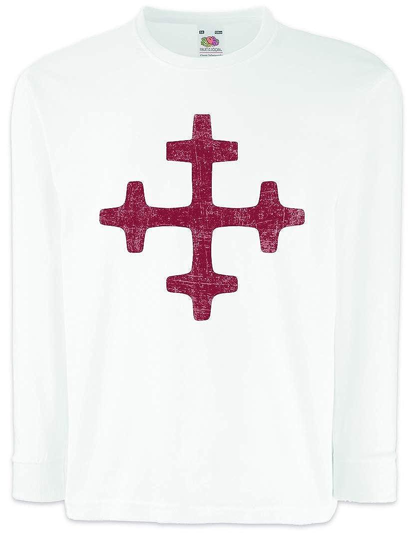 LATVIAN DIEVTURITY SYMBOL LONG SLEEVE T-SHIRT Insigna Sign Latvian Latvia