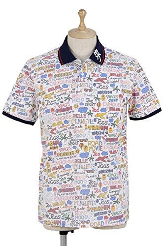 半袖ポロシャツ メンズ カステルバジャック カステル バジャック スポーツ CASTELBAJAC SPORTS ゴルフウェア 23070-126 LL(50) ホワイト(01) B07S9K7L3J