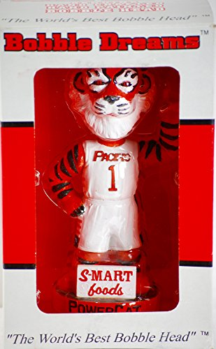 New Mib Mint - 2002 - Bobble Dreams / University of the Pacific - Pacific Powercat #1 - Bobble Head - Tommy Tiger - Hand Made - S-Mart Foods - OOP - New - MIB - Rare- Collectible