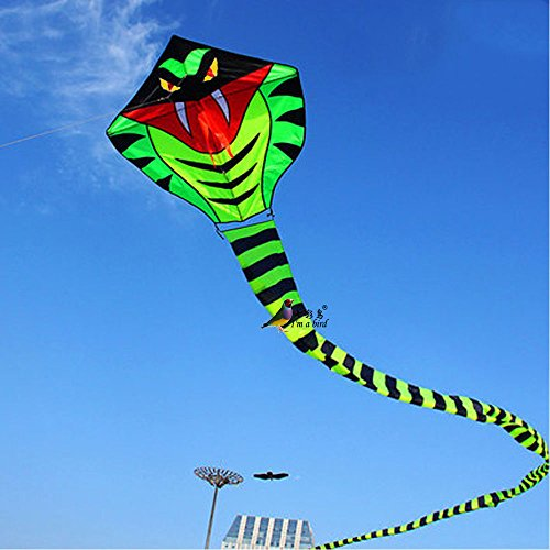 Snake Kite Sports Easy To Fly Children Toys Suitable For Flying In The Open Area, Such As Sea, , Good Carry Bag Packaging Is A Long Strip Style