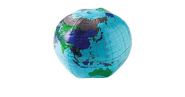 Amazon.com: US Toy One pelota hinchable de tierra Globe ...