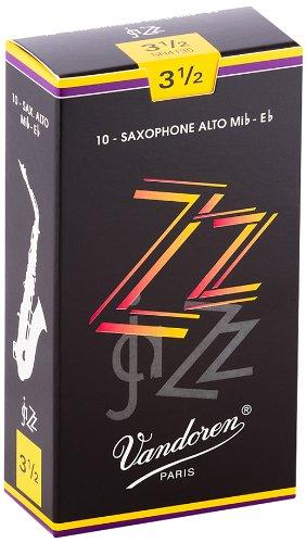 Vandoren SR4135 ZZ 10 Anches pour Saxophone Alto 3, 5 Accessoires pour bois/Anches