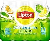 Diet Lipton Green Tea, Citrus (12 Count, 16.9 Fl Oz Each)