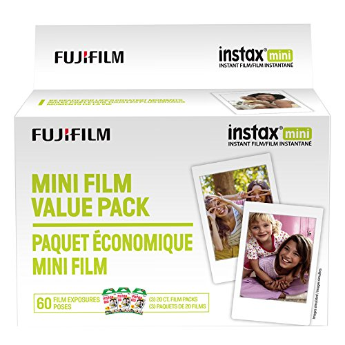 Fujifilm Instax Mini Film Value Pack – 60 Images