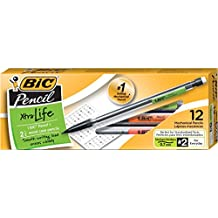 BIC Pencils Mechanical Pencils, Black, 0.7mm, Dozen Box