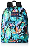 JanSport Superbreak Backpack for Girls School Backpack Vivid Paradise Deal