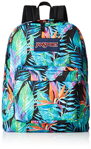 Jansport T501 Women's Superbreak, Vivid Paradise - OS by JanSport