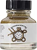 #4: Winsor & Newton Drawing Ink Bottle, 14ml, Gold