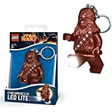 Lego Star Wars New Official Chewbacca Minifigure LED Lite Key Chain Light Torch Keyring