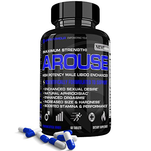 Arouse Male Libido Enhancer by Life's Armour | High Potency Sexual Enhancement Supplement for Men to Boost Sex Drive, Increase sexual desire, Stamina, & Performance Natural Aphrodisiac (Sexual Men Drive)