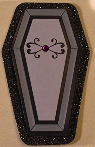 Coffin Sticker Embellishment