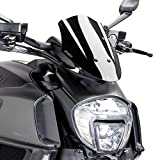Windscreen Puig Sport Ducati Diavel 14-18 black