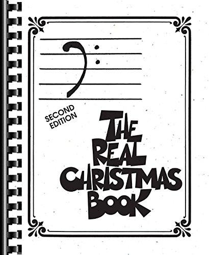 The Real Christmas Book: Bass Clef Edition Christmas Bass