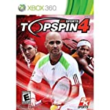 New Take-Two Top Spin 4 Sports Game Multiplayer Online Supports Xbox 360 Network Compatible