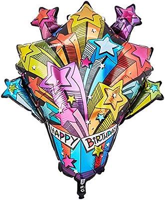 Multicolor Qualatex 16093 Foil Balloon 35