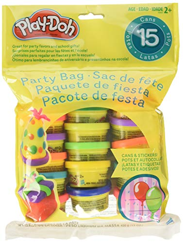 - Play-Doh Party Bag Dough (15 Count)