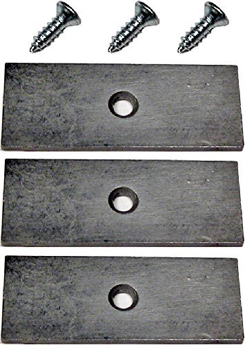 Pinewood Derby Tungsten Plates by ABC Pinewood Derby