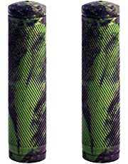 BW MTB Bike Grips – Comfortable and Grippy 130mm Bicycle Handlebar Grips