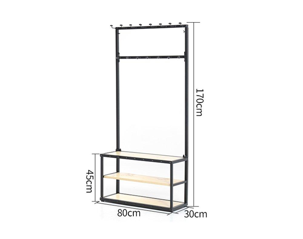 Amazon.com: Simple piso de madera maciza de hierro forjado ...