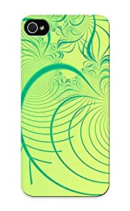 LtsGHyY5340ObpTc Tpu Phone Case With Fashionable Look For Iphone 5/5s - Organic Spirals Case For Christmas Day's Gift