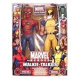 : MGA Marvel Spiderman Walkie-Talkie Wolverine