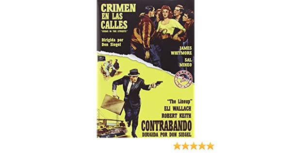 Amazon.com: Crime In The Streets - The Lineup - Audio: English, Spanish - Region 2: Movies & TV