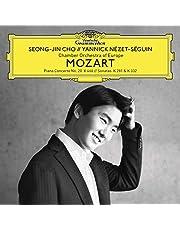 Mozart (Piano Concerto No. 20, K. 466; Sonatas, K. 281 & 332)