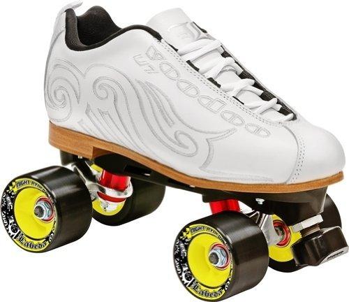Labeda Voodoo u7スピードRoller Skates B00NAEN24E 13|Hot White Hot White 13