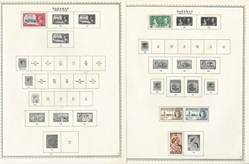 Bahama Collection (Bahamas Collection 1859 -1949 & 1967-72 on Minkus Specialty Pages, 15 Pages)