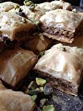 Fresh Authentic Baklava with Walnuts 30 Pcs