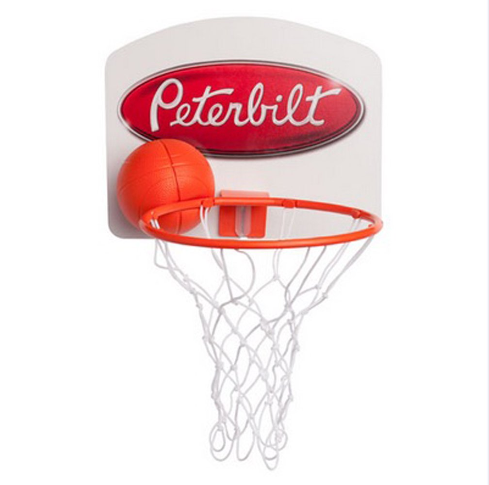 BD/&A Peterbilt Trucks Wall Mount Mini Basketball Backboard Set