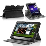 MoKo 360 Degree Rotatory Detachable Cover Case with Stand for Asus eee Transformer Pad Infinity TF700 / TF700T Android Tablet, Black