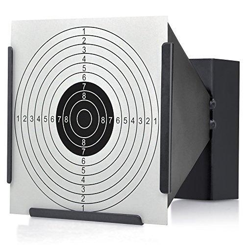 14*14cm Target Holder + 100 Targets Air Rifle Pellet Trap Shooting Airsoft …