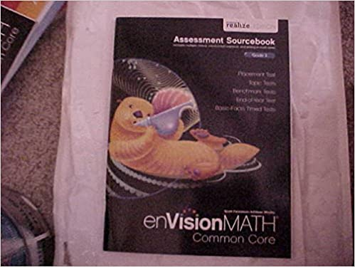 eVision Math Common Core Grade 3 Assessment Sourcebook