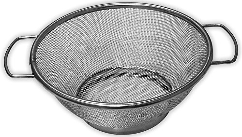 """UPC 768537032085, Fine Mesh Kitchen Strainer Made Of Stainless Steel, With Top Diameter Of 7.5"""""""