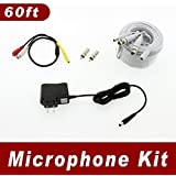 Samsung Surveillance Security System Microphone Kit (Compatible with Samsung SDH-C5100, SDC-C5100)
