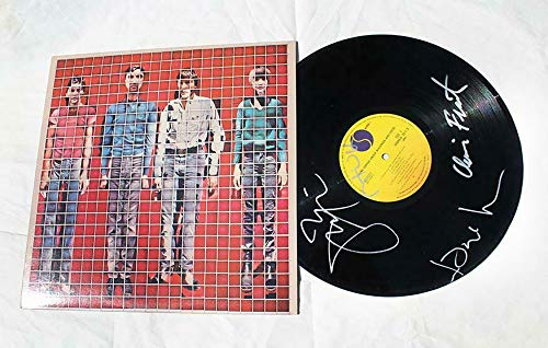 Talking Heads SIGNED Songs About Buildings Food Vinyl COA David Jerry Chris Tina (Vh1 100 Greatest Artists Of All Time 2011)