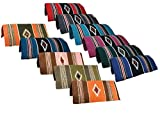 Navajo Ancient Design Saddle Blankets Hand Woven 32″x64″ by Tahoe